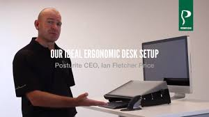 ergonomic desk setup. Our Ideal Ergonomic Desk Set Up Setup