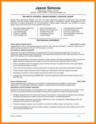Mechanical Engineer Resume Example Sample Template Free Download