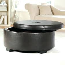 circular leather ottoman nice round leather ottoman coffee table with storage pottery barn oval leather ottoman