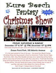 Kure Beach Tide Chart Kure Beach Fantasy Christmas Show December 13th 14th