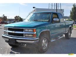 1994 Light Quasar Blue Metallic Chevrolet C/K K1500 Z71 Extended ...