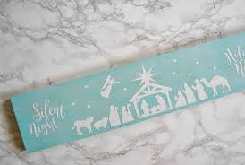 Silhouette studio *we highly recommend upgrading to designer edition, to use your if you have a silhouette, you must have designer edition to open and use svg designs. Diy Wooden Nativity Silhouette With Free Cricut Cut File Simple Made Pretty