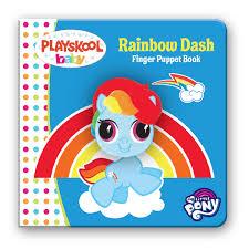 leap year press my little pony rainbow dash finger puppet book