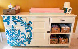 FREE Stencils to Use in Baby Nursery Decorating and Painting Projects