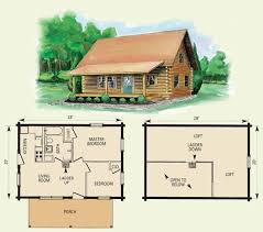 This Is The Cabin I Want To Build  One Bedroom Open Floor Cabin Open Log Home Floor Plans