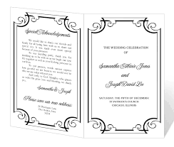 Best Solutions For Event Program Template Microsoft Word With Sample ...