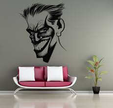 joker stickers why so serious wall vinyl decals home interior for wall vinyl decals ideas of