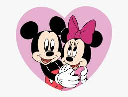 mickey mouse y minnie making the web