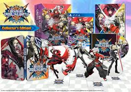She also has black heels with red stripes, which matches her hair. Blazblue Cross Tag Battle Gets A Collector S Edition For North America Siliconera