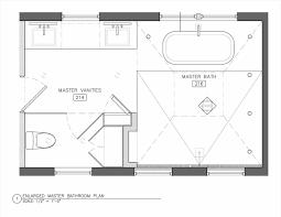 elegant master bathroom plans with walk in shower no tub bathroom design floor plans