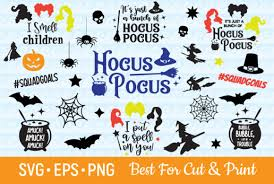 Hocus Pocus Svg I Smell Children Witch Graphic By Olimpdesign Creative Fabrica