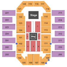 Bjcc Wwe Seating Chart Wwe