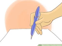 ways to write a transition sentence wikihow image titled write a transition sentence step 1