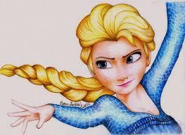 1024x749 princess elsa from frozen by amandabloom on deviantart