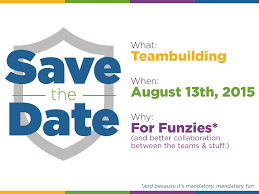 What Are Save The Date Cards Save The Date Card For Teambuilding Event By Jess Zak On