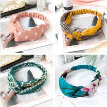 Buy Fashion Retro Turban Headbands Women <b>Summer</b> online ...