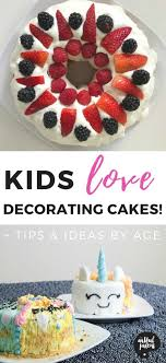 Kids Cake Decorating Fun Tips And Ideas For Different Ages