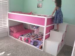 bunk bed with stairs for girls. Bunk Beds For Girls With Stairs Carpet Bed B