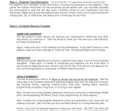 Resume Good Objectives For Resume Unique The Best Way Write