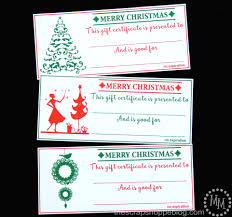 diy craft tutorials creative ideas need a last minute christmas gift idea meaning try these printable christmas gift certificates