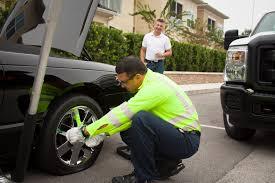 aaa roadside assistance flat tire