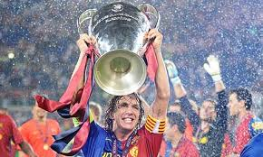 Image result for puyol champions league trophy