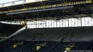 Die arena dortmund ist eine moderne kampfsportschule, die verschiedene kampfsportarten und ein vollwertiges fitnesscenter kombiniert. Dortmund S South Stand To Be Closed For Wolfsburg Match Sports German Football And Major International Sports News Dw 13 02 2017