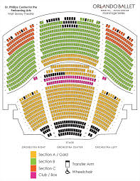 Seating Chart Placeholder Orlando Ballet