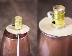 make a copper desk lamp