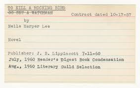 Harper Lee To Kill A Mockingbird History Business Insider