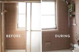 how to remove old shower doors sarah