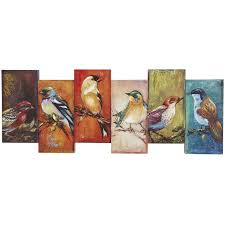 assemblage of birds art pier 1 imports