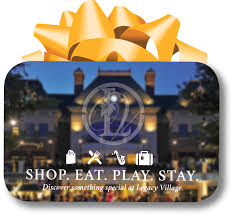 make gift giving simple with a legacy village gift card