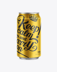 Plus, get full access to a library of over 316 million images. Aluminum Can 330ml Mock Up In Can Mockups On Yellow Images Object Mockups