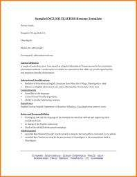 7 Esl Teacher Cover Letter Precis Format