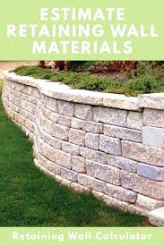 retaining wall blocks retaining wall blocks retaining wall calculator and estimator find how retaining wall blocks