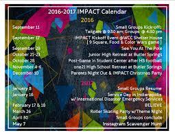 Impact 16 17 Calendar Thoughts From A Hoosier Fan In The Buckeye Land