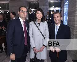 Noel Kimmel, Wen Zhang, Adam Brazier at Brioni & Cantor Fitzgerald Relief :  Cocktail Event / id : 2327830
