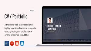 Resume Website Template CV Portfolio Responsive Resume Website Templates and Themes 25