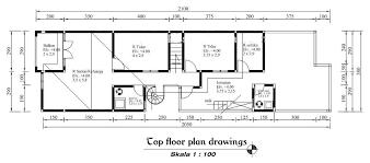 top floor plan drawings consist basic