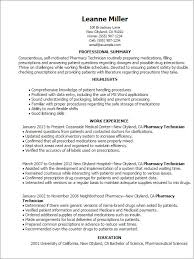 supply technician resume sample example certified pharmacy technician resume samples visualcv