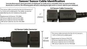 innovate motorsports bosch lsu 4 9 replacement oxygen sensor bosch 5 wire o2 sensor pinout at Bosch O2 Sensor Wiring Diagram 3 Wire Connector