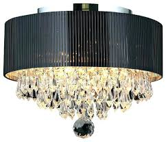 fearsome large drum chandelier with crystals lights light