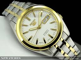 buy seiko 5 automatic two tone mens watch snkg98j1 snkg98 seiko 5 automatic two tone mens watch snkg98j1 snkg98