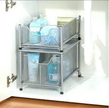 under sink storage kitchen sink cabinet organizer wonderful under cabinet organizer bathroom best sink storage ideas