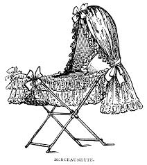 black and white pictures for babies printable victorian baby bassinet old design shop blog