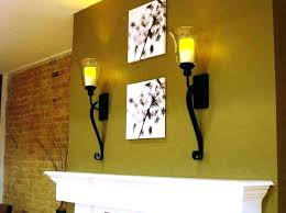 modern wall candle holders rustic sconces wood holder sconce chandelier