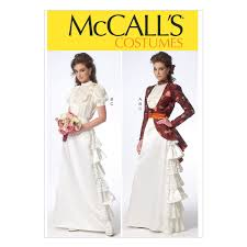 Mccalls Costume Patterns Stunning Amazon McCalls Sewing Pattern M 48 E48 Misses Period Costume