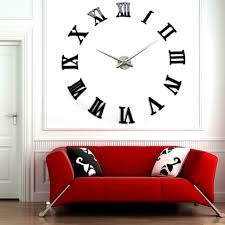 Small Picture Gorgeous Large Designer Wall Clock 5 Large Modern Wall Clocks