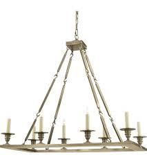 8 light rectangular chandelier visual comfort rectangular flat line 8 light inch antique nickel chandelier ceiling